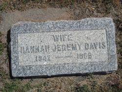 Hannah <I>Jeremy</I> Davis
