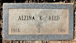 Alzina C <I>Kelly</I> Reed