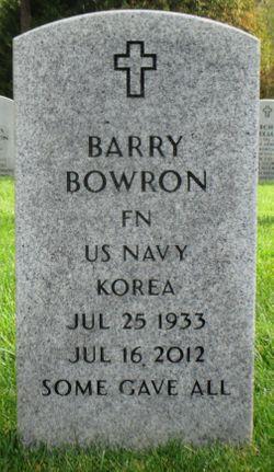 "Barrett ""Barry"" Bowron"