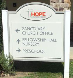 Hope Lutheran Church Columbarium