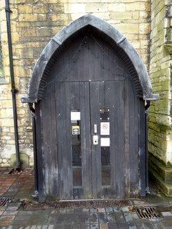 St. Mary le Wigford Churchyard