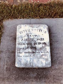 Bettie Wheeler