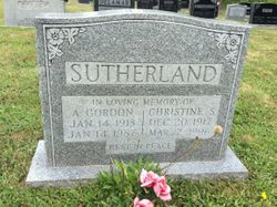 Christine S Sutherland