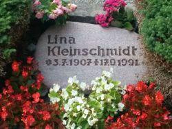 Lina Kleinschmidt