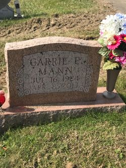 Carrie Eileen <I>Smith</I> Mann