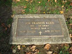 Joe Francis Klein