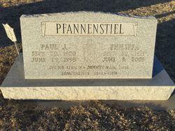 paul j pfannenstiel 1920 1995 find a grave memorial. Black Bedroom Furniture Sets. Home Design Ideas