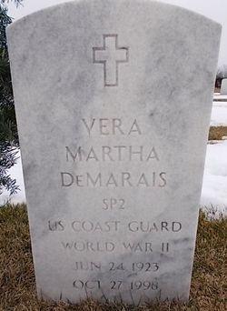 Vera Martha Demarais