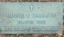 Minnie <I>Sanford</I> Garrison