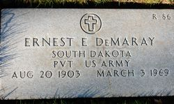 PVT Ernest Evelyn Demaray