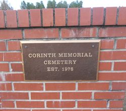 Corinth Memorial Cemetery