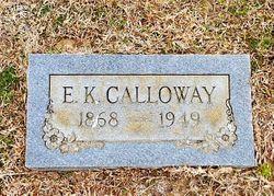 """Ezekiel K. """"Zeke"""" Calloway"""