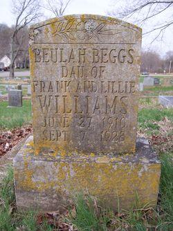 Beulah <I>Williams</I> Beggs