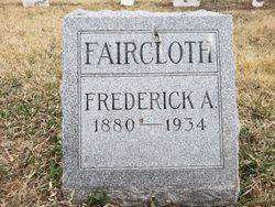 Frederick A Faircloth