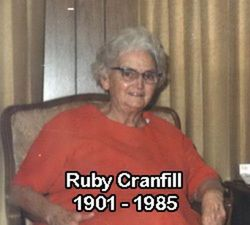 Ruby <I>Cranfill</I> Calvery