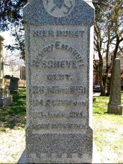 "Johann Heinrich Anton Emanuel ""Henry Emanuel"" Scheve"