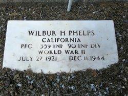 PFC Wilbur H Phelps