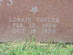 Lorain <I>Taylor</I> Capps