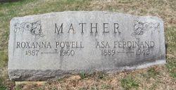 Asa Ferdinand Mather Jr.