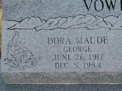 Dora Maude <I>George</I> Vowell