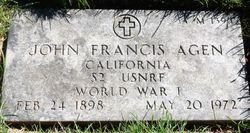John Francis Agen