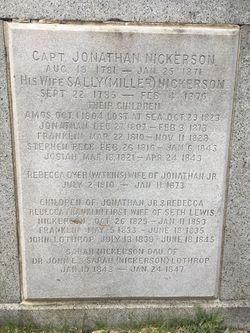 Capt Jonathan Nickerson