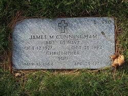James M Cunningham