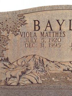 Viola Louise <I>Mathis</I> Bayles