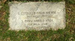 """Sr Consuelo Maria """"Elizabeth T"""" Aherne"""