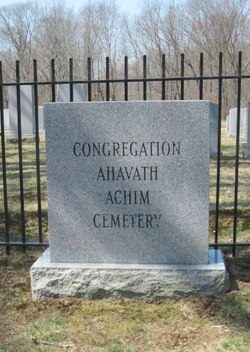 Congregation Ahavath Achim Cemetery