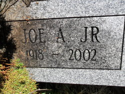"""Joseph Albert """"Joe"""" Krasovec Jr."""