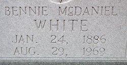 Bennie White McDaniel