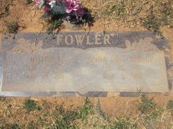 Anna Lois <I>Bishop</I> Fowler