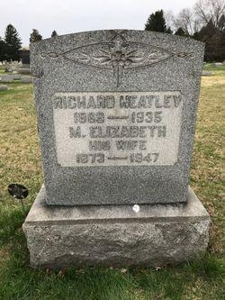 Mary Elizabeth <I>Waters</I> Heatley