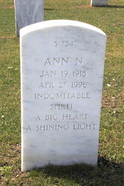 Ann <I>Nagel</I> Bishoff