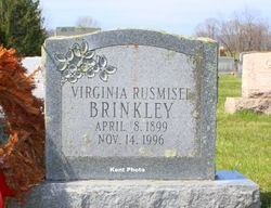 Virginia <I>Rusmisel</I> Brinkley