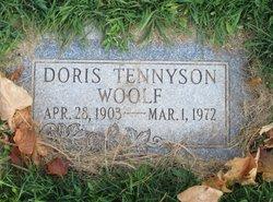 Doris <I>Tennyson</I> Woolf
