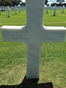 CPL Raymond H Hatlestad