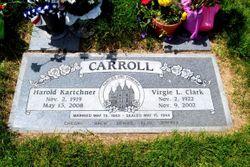 Virgie LaRee <I>Clark</I> Carroll