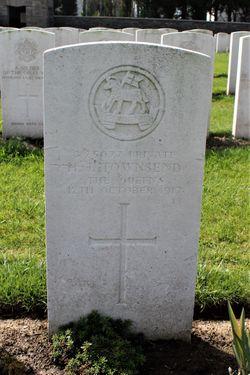 Private H J Townsend