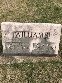 Violet Irene <I>Alberson</I> Williams