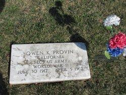 Owen Keith Provin