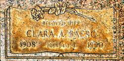 Clara Alice <I>Morris</I> Baerg