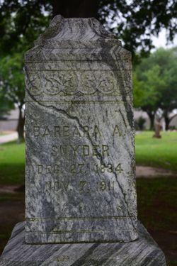 Barbara A. Snyder