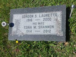 Edna M <I>Shannon</I> Laurette
