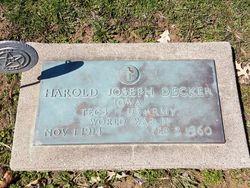Harold Joseph Decker