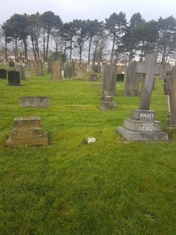 Unmarked Grave Of Mary McCartney