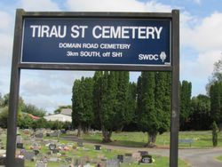 Tirau Sreet Cemetery