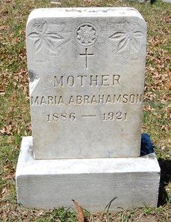 """Maria """"Mary"""" Abrahamson"""