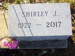 Shirley J <I>Ziegenbein</I> Anderson
